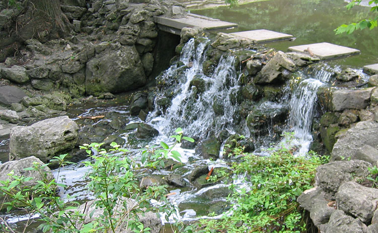 Water resources chisholm fleming and associates for Waterfall environment